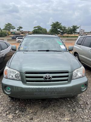 Toyota Highlander 2006 Limited V6 4x4 Green | Cars for sale in Lagos State, Ojodu