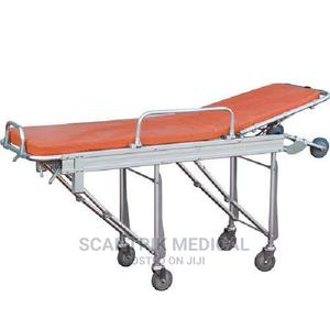 Transport Stretcher Non Height Adjustable With 4 Locking Cas | Medical Supplies & Equipment for sale in Rivers State, Port-Harcourt