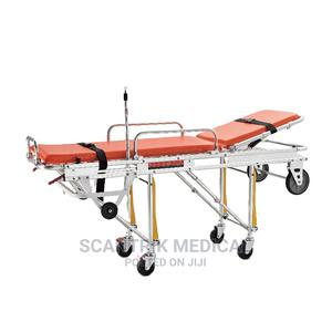 Ambulance / Hospital Stretcher With Drip Stand | Medical Supplies & Equipment for sale in Rivers State, Port-Harcourt