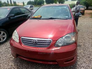 Toyota Corolla 2005 S Red   Cars for sale in Abuja (FCT) State, Kubwa