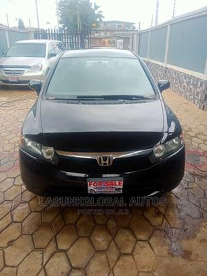 Honda Civic 2006 1.8i-Vtec EXi Automatic Black   Cars for sale in Lagos State, Abule Egba