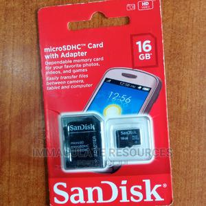 16hb Sandisk Memory Card   Accessories for Mobile Phones & Tablets for sale in Rivers State, Port-Harcourt