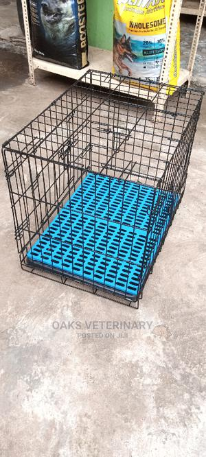 Durable and Fancy Collapsible Parlour Dog Cage(Size 2) | Pet's Accessories for sale in Lagos State, Apapa