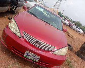 Toyota Camry 2003 Red | Cars for sale in Abuja (FCT) State, Lugbe District