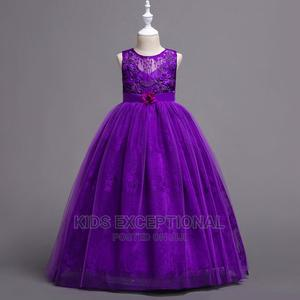 Ceremonial Ball Long Dress   Children's Clothing for sale in Lagos State, Surulere