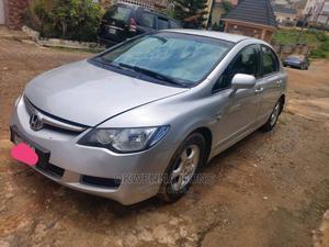Honda Civic 2007 1.8i VTEC Silver   Cars for sale in Abuja (FCT) State, Apo District