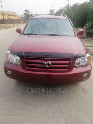 Toyota Highlander 2005 Red | Cars for sale in Lagos State, Amuwo-Odofin