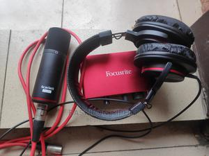 Focusrite Solo-Scarlet (Headphone and Microphone) | Musical Instruments & Gear for sale in Imo State, Owerri