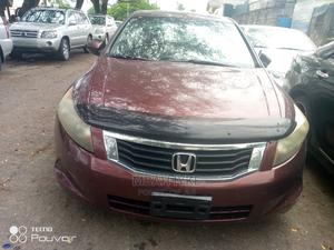 Honda Accord 2008 2.4 LX Automatic Red | Cars for sale in Lagos State, Amuwo-Odofin