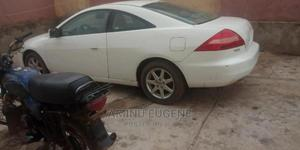Honda Accord 2005 Automatic White | Cars for sale in Lagos State, Abule Egba