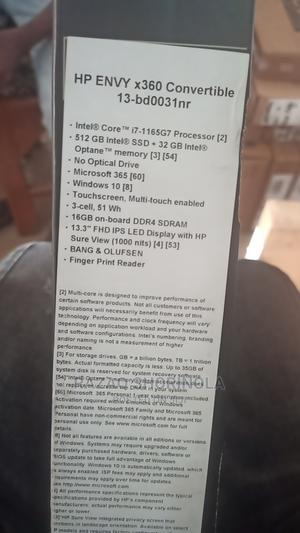 New Laptop HP Envy X360 13z 16GB Intel Core I7 SSD 512GB   Laptops & Computers for sale in Lagos State, Ikeja