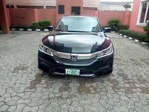 Honda Accord 2015 Black   Cars for sale in Lagos State, Yaba