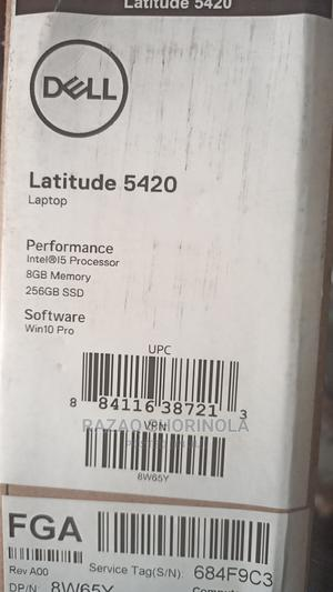 New Laptop Dell Latitude 14 5000 8GB Intel Core I5 SSD 256GB   Laptops & Computers for sale in Lagos State, Ikeja