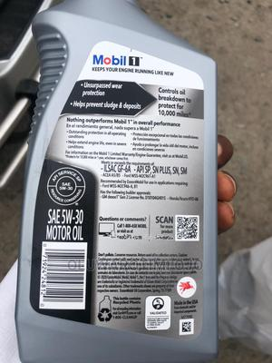 Mobil1 Oil   Vehicle Parts & Accessories for sale in Lagos State, Ojo