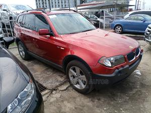 BMW X3 2005 2.5i Red | Cars for sale in Lagos State, Ajah
