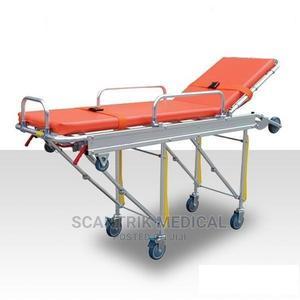 Scantrik Medical Supplies Hospital Ambulance Stretcher | Medical Supplies & Equipment for sale in Rivers State, Port-Harcourt