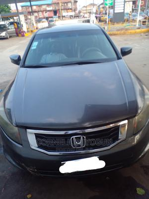 Honda Accord 2008 2.0 Comfort Automatic Gray   Cars for sale in Lagos State, Shomolu