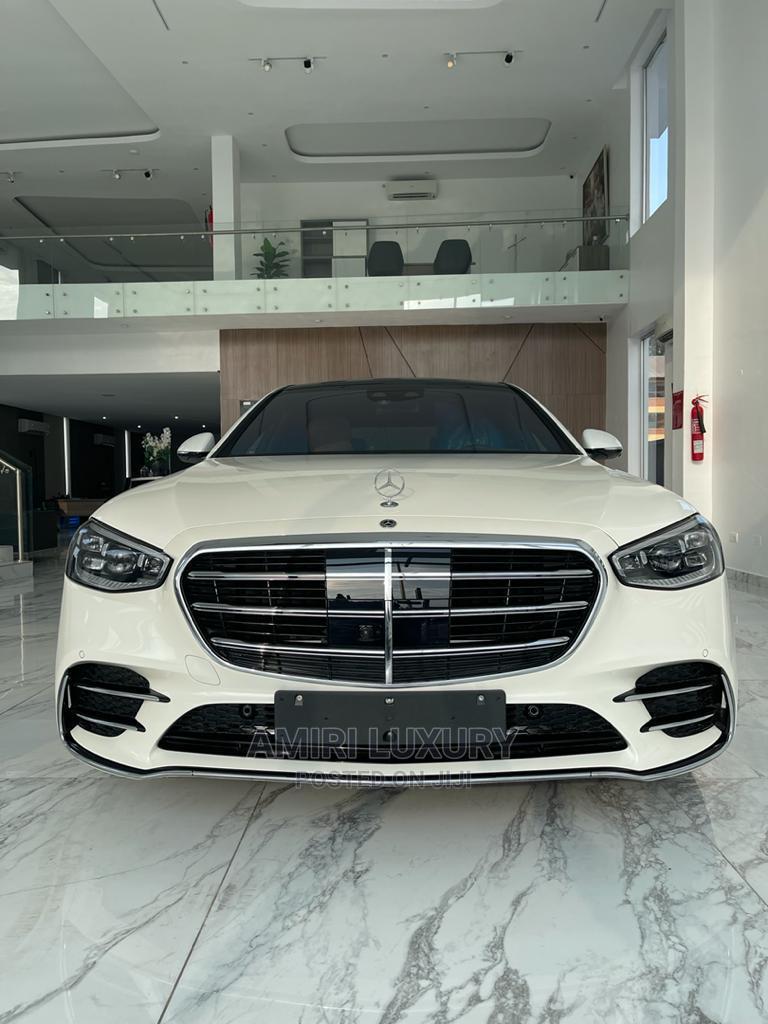 New Mercedes-Benz S Class 2021 White