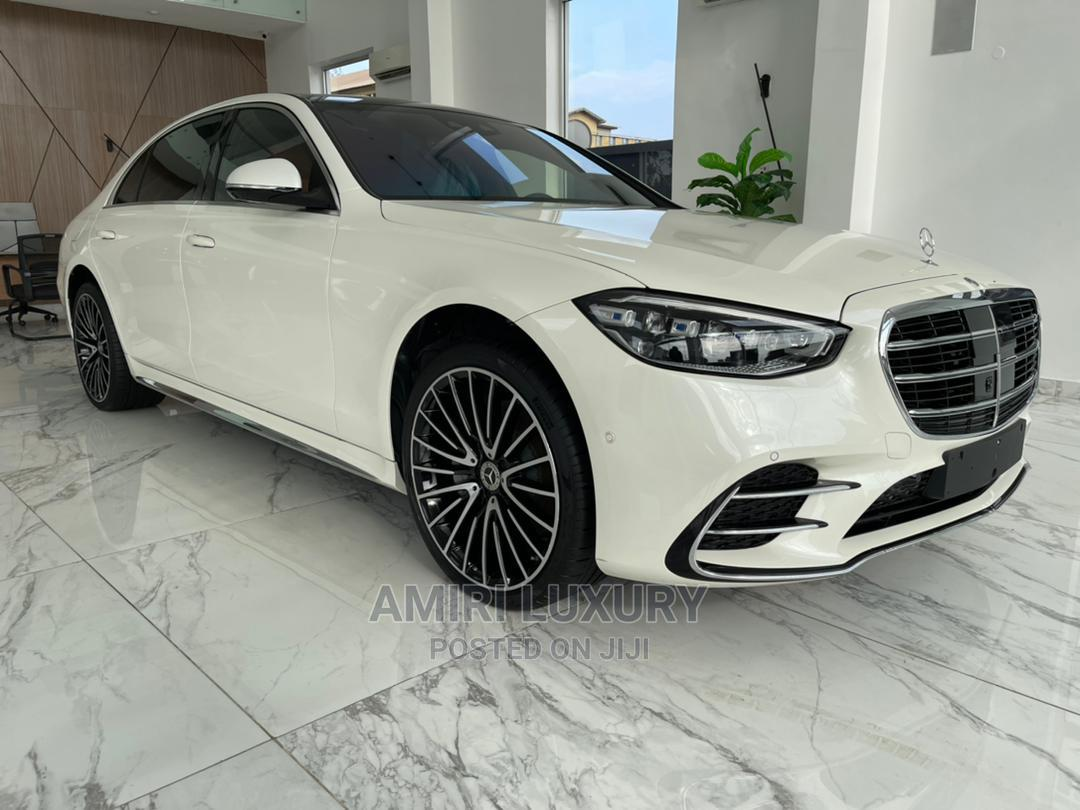 New Mercedes-Benz S Class 2021 White   Cars for sale in Victoria Island, Lagos State, Nigeria