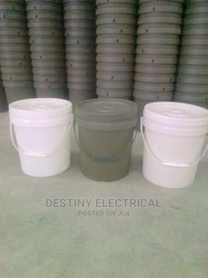 20 and 4litres Paint Bucket | Manufacturing Materials for sale in Rivers State, Oyigbo