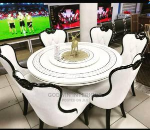 White Royal Wooden Dining Table   Furniture for sale in Lagos State, Ikeja