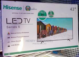 Hisense LED TV 43 Inches | TV & DVD Equipment for sale in Lagos State, Ifako-Ijaiye