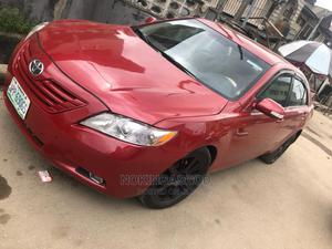 Toyota Camry 2008 3.5 LE Red | Cars for sale in Lagos State, Ilupeju