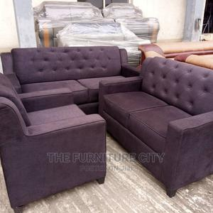 Complete 7 Seater Fabric Living Room Sofa | Furniture for sale in Lagos State, Ikeja