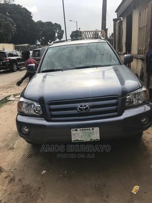 Toyota Highlander 2005 Limited V6 Blue   Cars for sale in Lagos State, Ikoyi