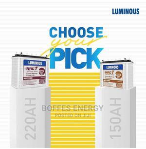 Luminous 220AH 12V Tubular Battery | Solar Energy for sale in Oyo State, Ibadan