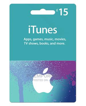 iTunes Gift Card (UK) - £15 | Accessories & Supplies for Electronics for sale in Abuja (FCT) State, Gudu