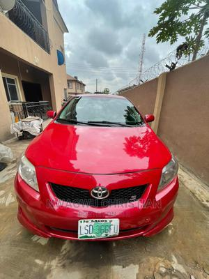 Toyota Corolla 2010 Red | Cars for sale in Lagos State, Ojodu