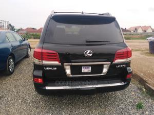 Lexus LX 2015 570 (5 Seats) AWD Black   Cars for sale in Abuja (FCT) State, Galadimawa