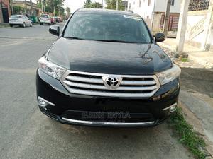Toyota Highlander 2013 Limited 3.5l 4WD Black | Cars for sale in Lagos State, Ikeja