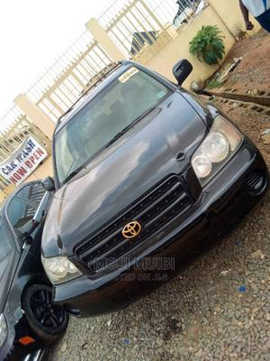 Toyota Highlander 2003 Black   Cars for sale in Rivers State, Port-Harcourt