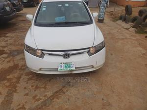 Honda Civic 2008 1.6i ES Automatic White | Cars for sale in Lagos State, Alimosho