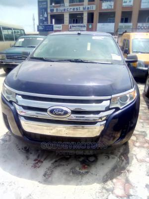 Ford Edge 2011 SE 4dr FWD (3.5L 6cyl 6A) Blue   Cars for sale in Lagos State, Ajah