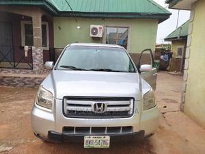 Honda Pilot 2007 EX-L 4x4 (3.5L 6cyl 5A) Silver | Cars for sale in Abuja (FCT) State, Karu