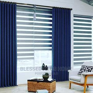 Awesome Blue Curtain | Home Accessories for sale in Ogun State, Ado-Odo/Ota