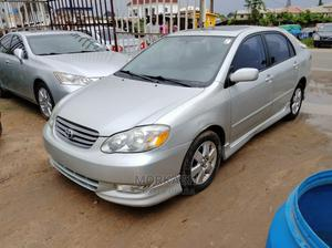 Toyota Corolla 2004 S Silver   Cars for sale in Lagos State, Isolo