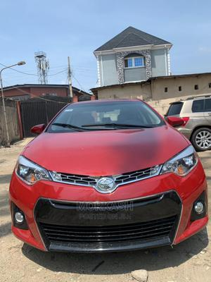 Toyota Corolla 2014 Red | Cars for sale in Lagos State, Isolo