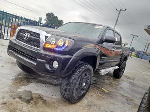Toyota Tacoma 2010 Double Cab V6 Automatic Black | Cars for sale in Rivers State, Port-Harcourt