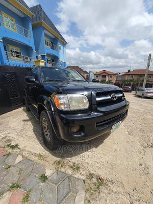 Toyota Sequoia 2006 Black   Cars for sale in Lagos State, Gbagada
