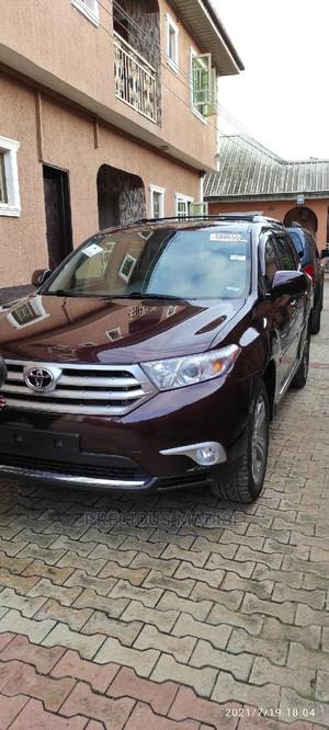 Toyota Highlander 2012 Limited Purple   Cars for sale in Lagos State, Alimosho