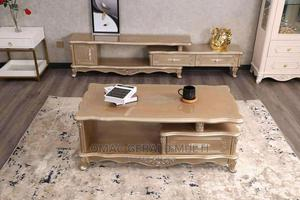Royal Console Tv Cabinet With Center Table | Furniture for sale in Lagos State, Lagos Island (Eko)