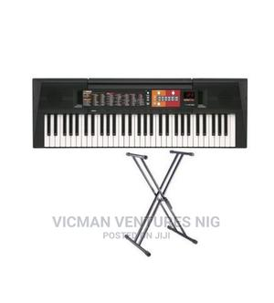 Yamaha PSR - F51 YAMAHA Keyboard Piano With Adaptor | Musical Instruments & Gear for sale in Lagos State, Ojo