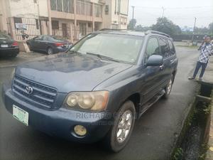 Toyota Highlander 2003 V6 AWD Blue | Cars for sale in Rivers State, Obio-Akpor