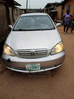 Toyota Corolla 2005 Silver | Cars for sale in Lagos State, Abule Egba