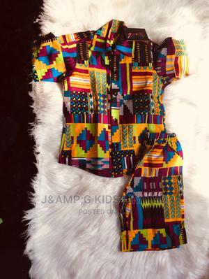 Ankara Boys Shirt and Short   Children's Clothing for sale in Lagos State, Lekki