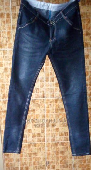 Black Jeans Trouser With Partly Ash | Clothing for sale in Abuja (FCT) State, Kuje